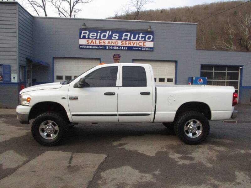 2007 Dodge Ram Pickup 2500 for sale at Reid's Auto Sales & Service in Emporium PA