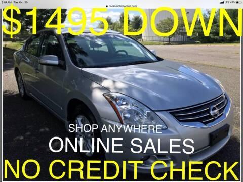 2010 Nissan Altima for sale at Cooks Motors in Westampton NJ