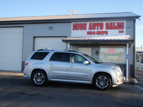 2012 GMC Acadia for sale at ENON AUTO SALES in Enon OH
