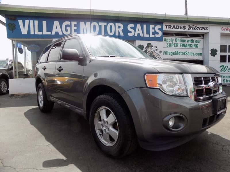 2012 Ford Escape for sale at Village Motor Sales in Buffalo NY