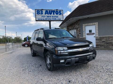 2006 Chevrolet TrailBlazer EXT for sale at 83 Autos in York PA