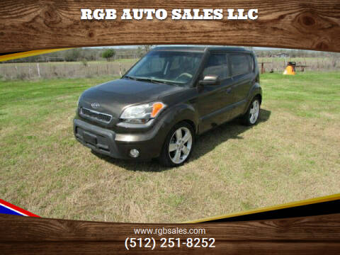 2010 Kia Soul for sale at RGB AUTO SALES LLC in Manor TX