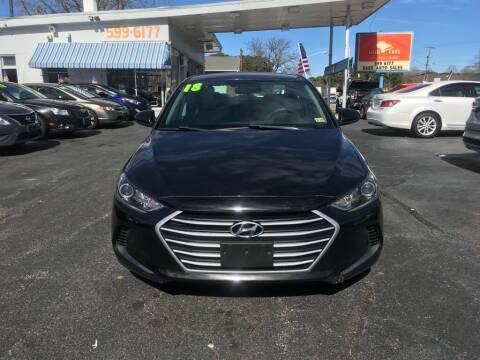 2018 Hyundai Elantra for sale at Dad's Auto Sales in Newport News VA