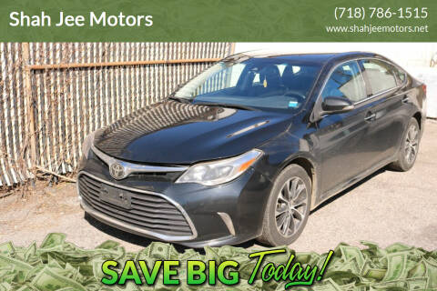2017 Toyota Avalon for sale at Shah Jee Motors in Woodside NY