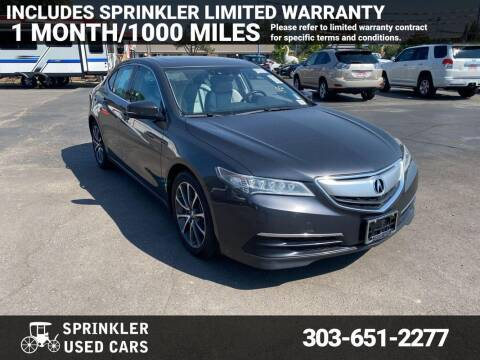 2015 Acura TLX for sale at Sprinkler Used Cars in Longmont CO