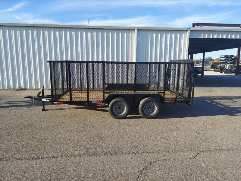 2021 Salvation  6x14 Trash for sale at Longhorn Motors in Belton TX