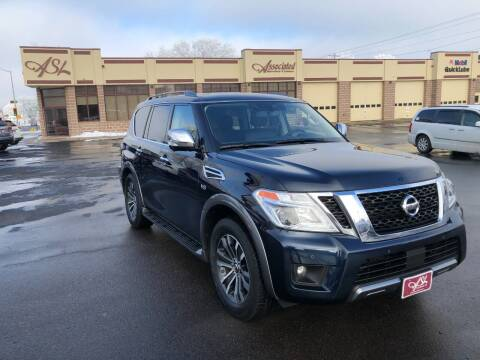 2020 Nissan Armada for sale at ASSOCIATED SALES & LEASING in Marshfield WI