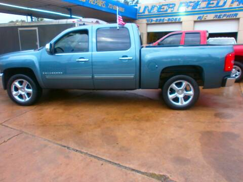 2009 Chevrolet Silverado 1500 for sale at Under Priced Auto Sales in Houston TX