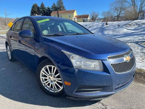 2012 Chevrolet Cruze for sale at Trocci's Auto Sales in West Pittsburg PA