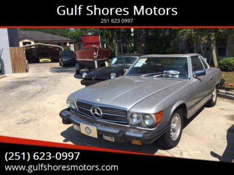 1981 Mercedes-Benz 380-Class for sale at Gulf Shores Motors in Gulf Shores AL