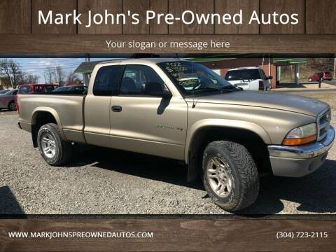 2002 Dodge Dakota for sale at Mark John's Pre-Owned Autos in Weirton WV