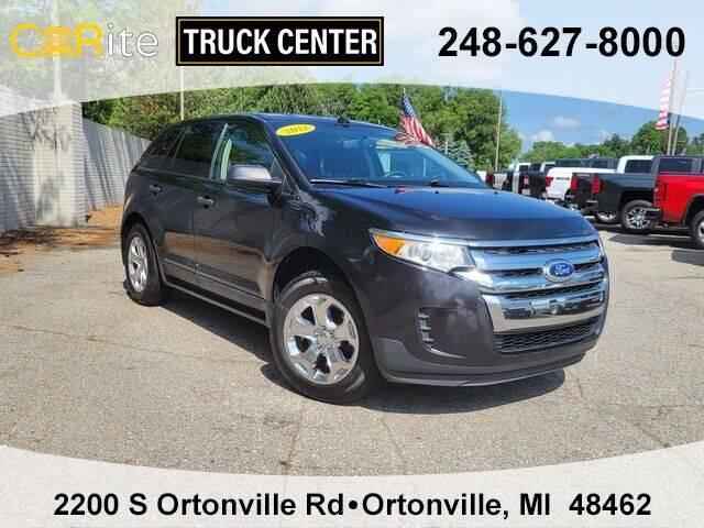 2013 Ford Edge for sale at Carite Truck Center in Ortonville MI