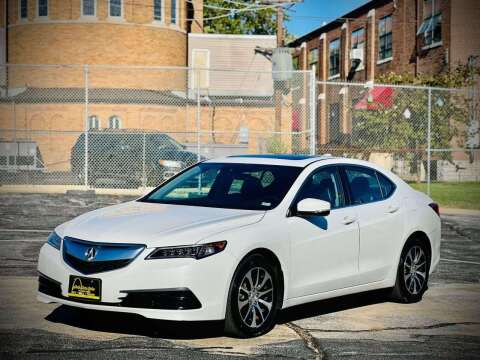 2017 Acura TLX for sale at ARCH AUTO SALES in Saint Louis MO
