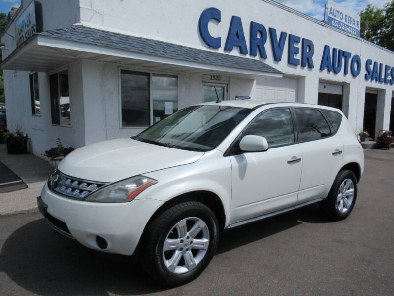 2007 Nissan Murano for sale at Carver Auto Sales in Saint Paul MN
