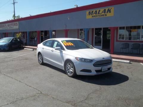 2016 Ford Fusion for sale at Atayas Motors INC #1 in Sacramento CA