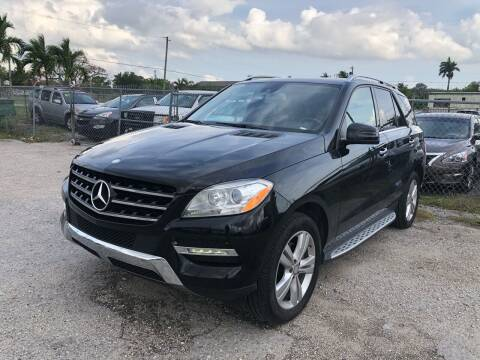 2015 Mercedes-Benz M-Class for sale at VC Auto Sales in Miami FL