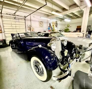 1938 Mercedes-Benz 320 for sale at Berliner Classic Motorcars Inc in Dania Beach FL