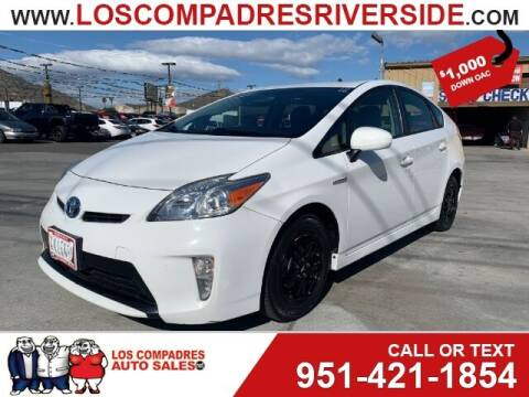 2015 Toyota Prius for sale at Los Compadres Auto Sales in Riverside CA