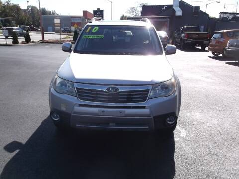 2010 Subaru Forester for sale at sharp auto center in Worcester MA
