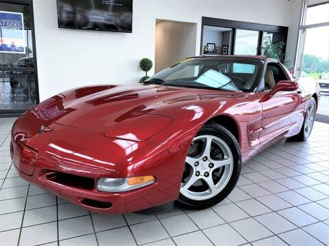2004 Chevrolet Corvette for sale at SAINT CHARLES MOTORCARS in Saint Charles IL