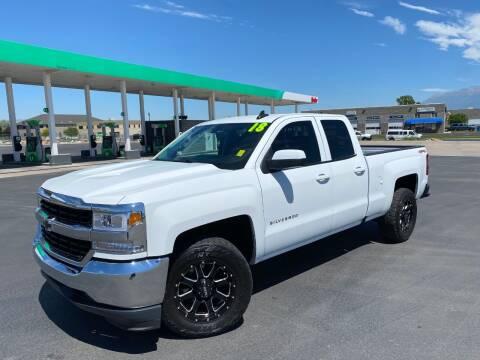 2018 Chevrolet Silverado 1500 for sale at Evolution Auto Sales LLC in Springville UT