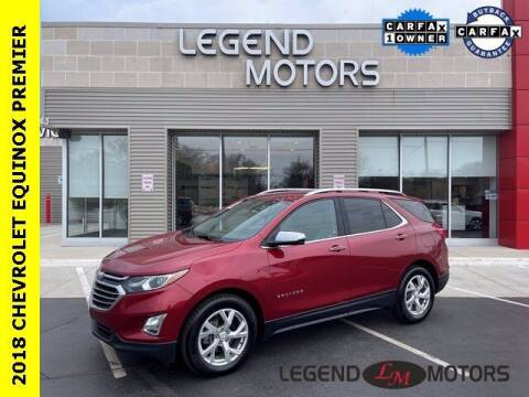 2018 Chevrolet Equinox for sale at Legend Motors of Waterford in Waterford MI