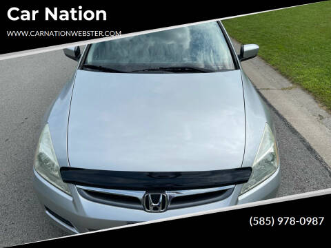 2007 Honda Accord for sale at Car Nation in Webster NY