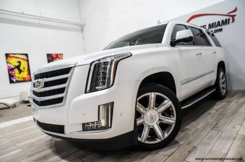 2017 Cadillac Escalade for sale at AUTO IMPORTS MIAMI in Fort Lauderdale FL