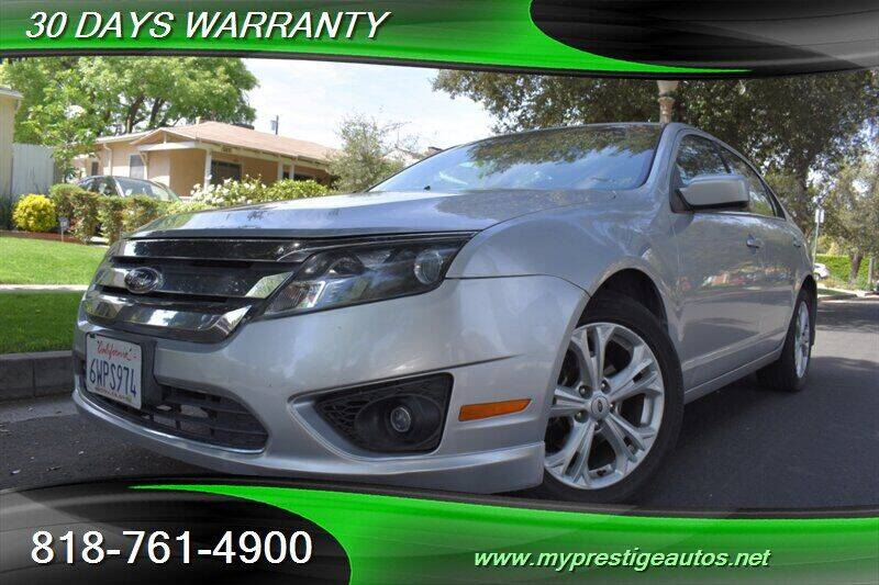 2012 Ford Fusion for sale at Prestige Auto Sports Inc in North Hollywood CA