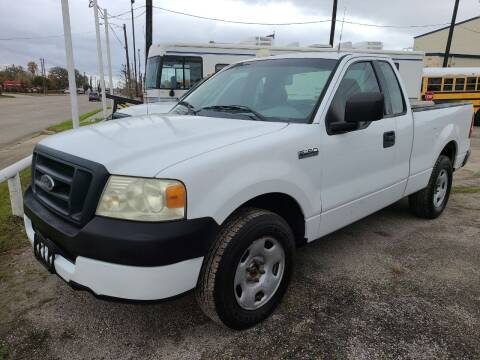 2005 Ford F-150 for sale at OTWELL ENTERPRISES AUTO & TRUCK SALES in Pasadena TX