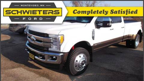 2017 Ford F-450 Super Duty for sale at Schwieters Ford of Montevideo in Montevideo MN