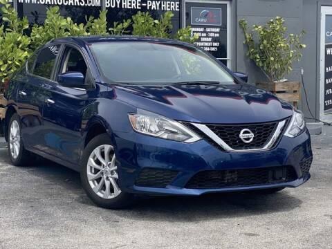 2019 Nissan Sentra for sale at CARUCARS LLC in Miami FL