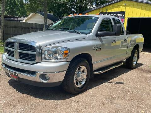 2008 Dodge Ram Pickup 3500 for sale at M & J Motor Sports in New Caney TX