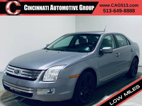 2007 Ford Fusion for sale at Cincinnati Automotive Group in Lebanon OH