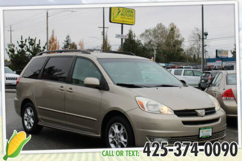 2004 Toyota Sienna for sale at Corn Motors in Everett WA