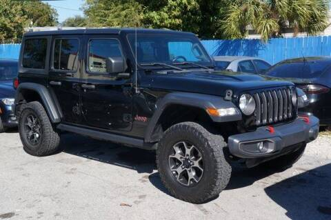 2019 Jeep Wrangler Unlimited for sale at Michael's Auto Sales Corp in Hollywood FL