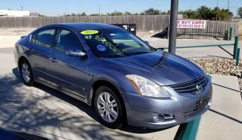 2012 Nissan Altima for sale at Budget Motors in Aransas Pass TX