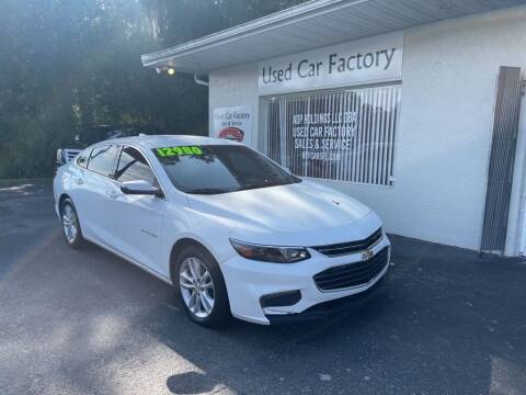 2016 Chevrolet Impala for sale at Used Car Factory Sales & Service in Port Charlotte FL