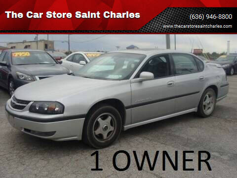 2002 Chevrolet Impala for sale at The Car Store Saint Charles in Saint Charles MO