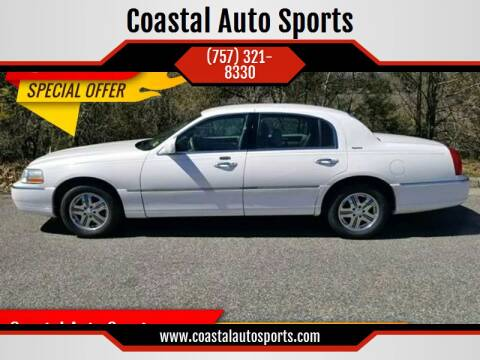 2005 Lincoln Town Car for sale at Coastal Auto Sports in Chesapeake VA