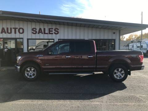 2015 Ford F-150 for sale at STEVE'S AUTO SALES INC in Scottsbluff NE