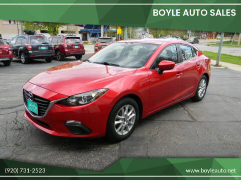 2014 Mazda MAZDA3 for sale at Boyle Auto Sales in Appleton WI