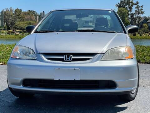 2003 Honda Civic for sale at Continental Car Sales in San Mateo CA