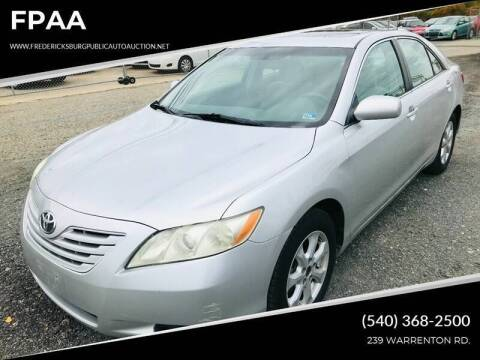 2009 Toyota Camry for sale at FPAA in Fredericksburg VA