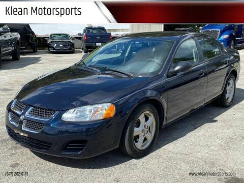 2004 Dodge Stratus for sale at Klean Motorsports in Skokie IL