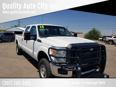 2015 Ford F-250 Super Duty for sale at Quality Auto City Inc. in Laramie WY
