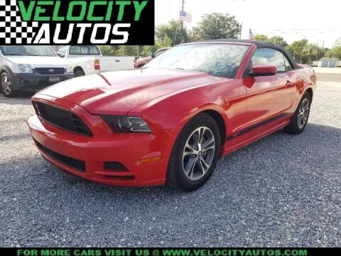 2014 Ford Mustang for sale at Velocity Autos in Winter Park FL