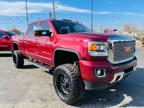 2015 GMC Sierra 2500HD for sale at Lion's Auto INC in Denver CO