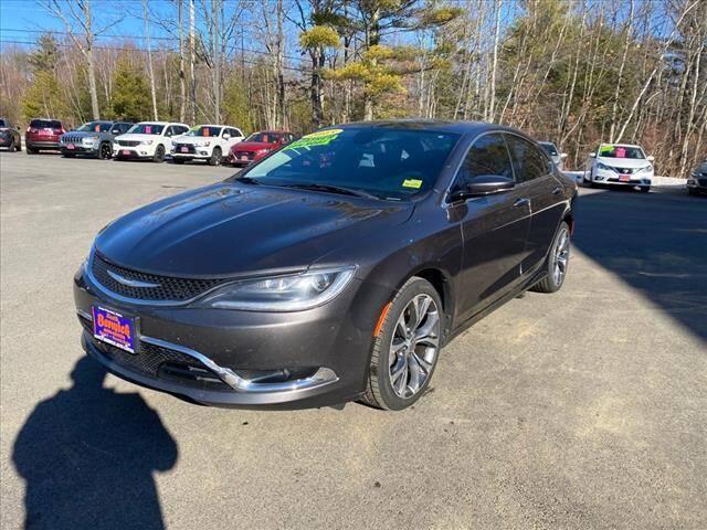 2015 Chrysler 200 for sale at North Berwick Auto Center in Berwick ME