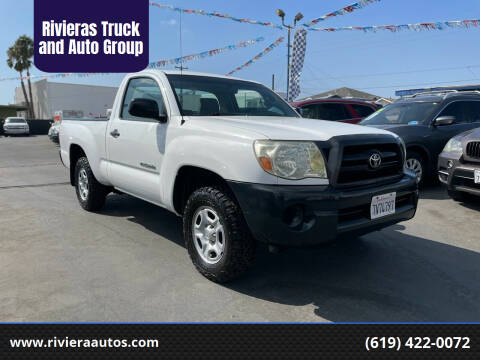 2005 Toyota Tacoma for sale at Rivieras Truck and Auto Group in Chula Vista CA